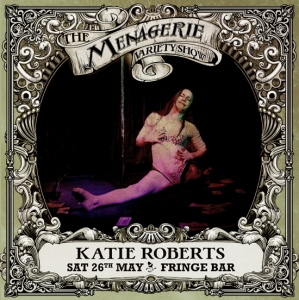 Katie Roberts - Pole dancer, The Menagerie Variety Show Wellington New Zealand