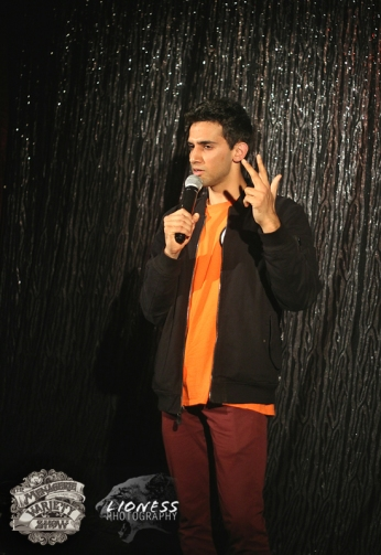 Advait Kirtikar at The Menagerie Variety Show Wellington New Zealand