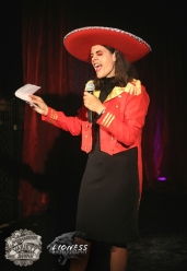 Maria Williams at The Menagerie Variety Show Wellington New Zealand
