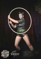 Harlow Lestrange at The Menagerie Variety Show Wellington New Zealand