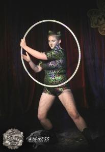 Harlow Lestrange at The Menagerie Variety Show Wellington New Zealand