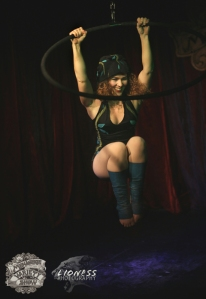 Evelyn Coulson at The Menagerie Variety Show Wellington New Zealand