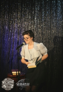 Cathy-Ellen Paul at The Menagerie Variety Show Wellington New Zealand