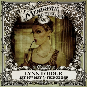 Lynn d'Hour - Drag queen, The Menagerie Variety Show Wellington New Zealand