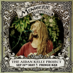 The Aidan Kelly Project - Guitarist, The Menagerie Variety Show Wellington New Zealand