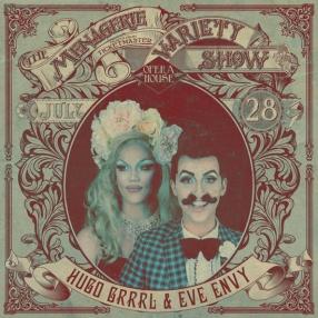 Hugo Grrrl & Eve Envy - Drag Duo - at Wellington Opera House, 28th July 2018 - Variety Show