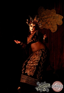 Gina King, The Menagerie Variety Show Wellington New Zealand