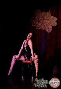 Katja Krimson, The Menagerie Variety Show Wellington New Zealand