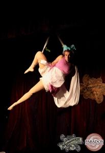 Iva Nolife, The Menagerie Variety Show Wellington New Zealand