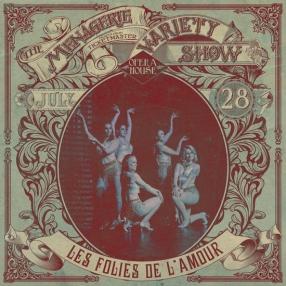 Les Folies de L'amour - Dance troupe - at Wellington Opera House, 28th July 2018 - Variety Show