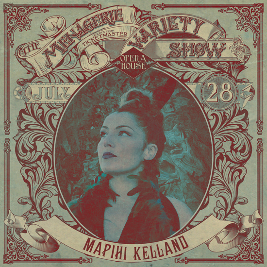 Mapihi Kelland - Māori Pasific Dance - at Wellington Opera House, 28th July 2018 - Variety Show
