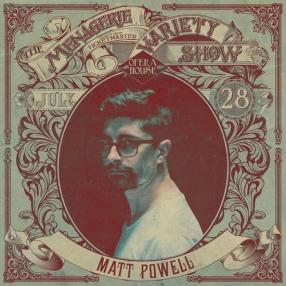 Matt Powell - MC - at Wellington Opera House, 28th July 2018 - Variety Show