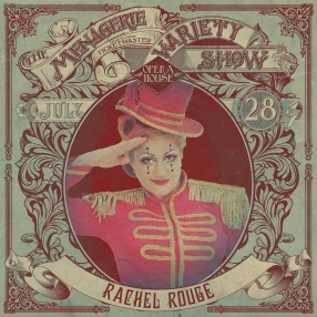 Rachel Rouge - Producer - at Wellington Opera House, 28th July 2018 - Variety Show