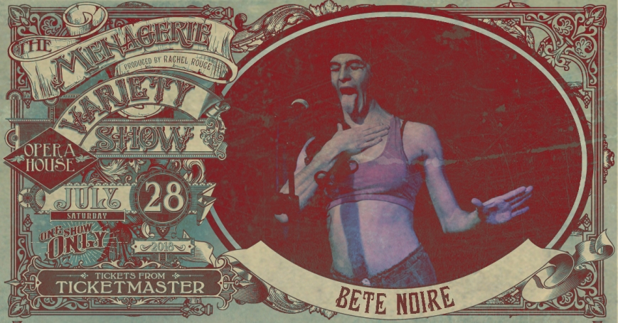 Bête Noire - Beatboxing drag-thing