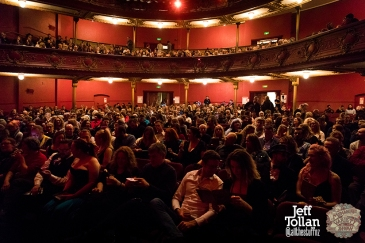 Opera House audience, The Menagerie Variety Show, Wellington Opera House, July 2018