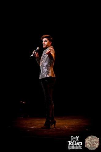 Matt Powell, The Menagerie Variety Show, Wellington Opera House, July 2018