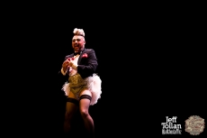 Mr Lola Illusion, The Menagerie Variety Show, Wellington Opera House, July 2018