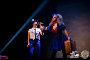 Hugo Grrrl and Eve Envy, The Menagerie Variety Show, Wellington Opera House, July 2018