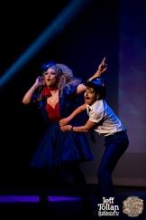 Hugo Grrrl & Eve Envy, The Menagerie Variety Show, Wellington Opera House, July 2018