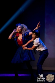 Hugo Grrrl & Eve Envy, The Menagerie Variety Show, Wellington Opera House, July 2018