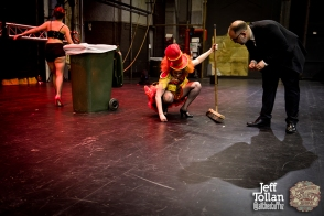 After the curtain goes down, The Menagerie Variety Show, Wellington Opera House, July 2018