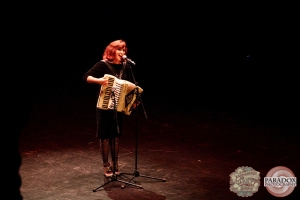 Emma Wollum, The Menagerie Variety Show, Wellington Opera House, July 2018