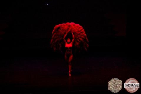 Bonita Danger Doll, The Menagerie Variety Show, Wellington Opera House, July 2018