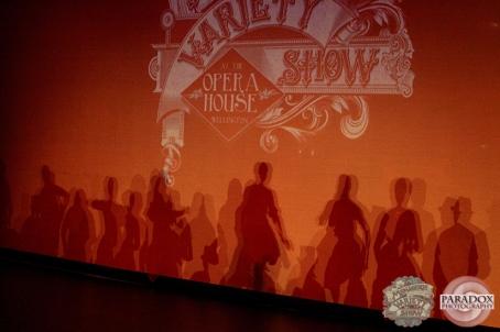 Wellington Batucada at intermission, The Menagerie Variety Show, Wellington Opera House, July 2018