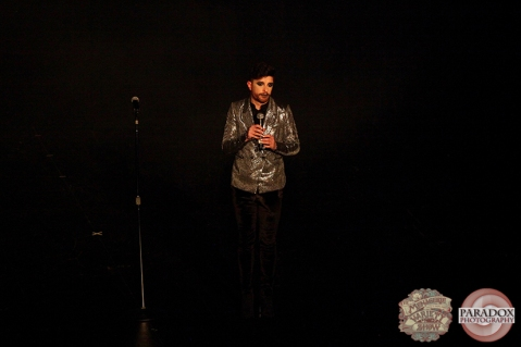 Matt Powell, The Menagerie Variety Show, Wellington Opera House, July 2018