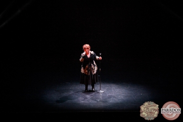 Vanessa Stacey, The Menagerie Variety Show, Wellington Opera House, July 2018
