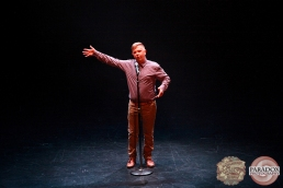 Duncan Hope, The Menagerie Variety Show, Wellington Opera House, July 2018