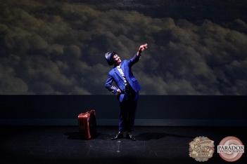 Hugo Grrrl, The Menagerie Variety Show, Wellington Opera House, July 2018
