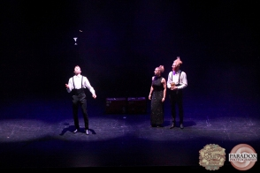 Laser Kiwi: Imogen, Zane and Degge, The Menagerie Variety Show, Wellington Opera House, July 2018