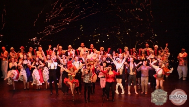Curtain Call, The Menagerie Variety Show, Wellington Opera House, July 2018