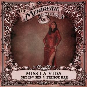 Miss La Vida - Highly entertaining MC