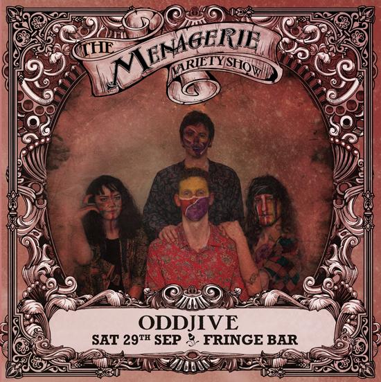 OddJive - Strange funk