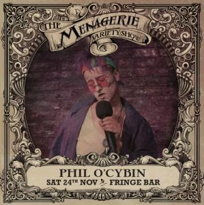 Phil O'Cybin - Drag poet