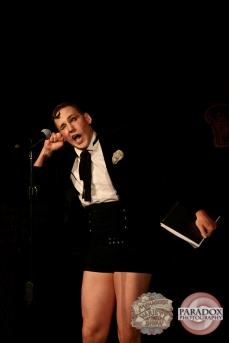 Clever Hansel, photo by Paradox Photography, Wellington variety show.