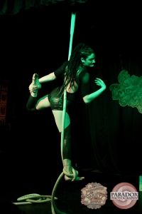 Medusa, photo by Paradox Photography, Wellington variety show.