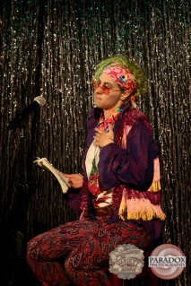 Phil O'Cybin, photo by Paradox Photography, Wellington variety show.