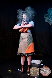 Stabitha, photo by Paradox Photography, Wellington variety show.