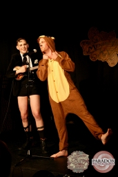 Clever Hansel & Victor Victorious, photo by Paradox Photography, Wellington variety show.