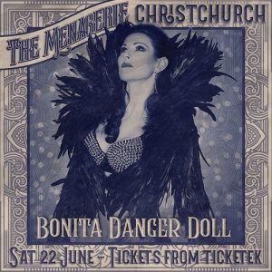 Bonita Danger Doll - Burlesque Stripteaser