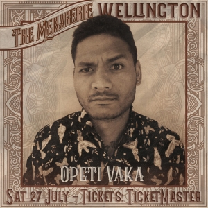 Opeti Vaka - Stand up comedian